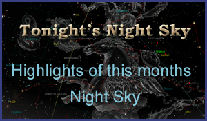 TONIGHTS SKY - Night sky map northern hemisphere